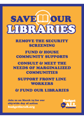 B4A Library Flier